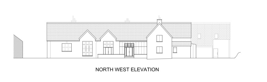 North West Elevation